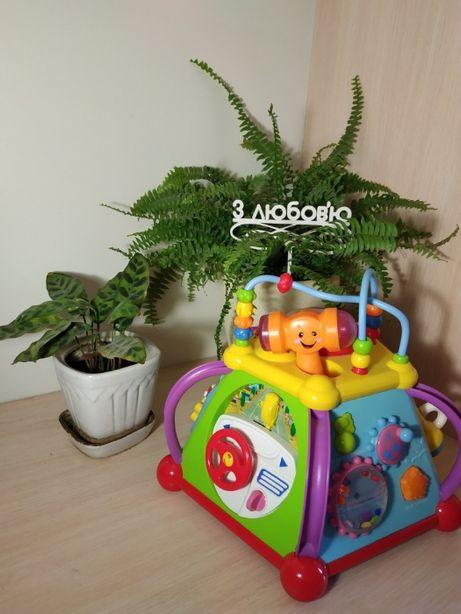 Мультибокс музыкальная развивающая игрушка игровой центр