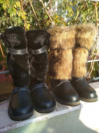 Унты мужские (Волк), зимняя мужская обувь ! Все размеры