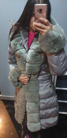 Kurtka płaszcz zimowy 40 XL