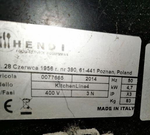 Piec do pizzy Hendi jednokomorowy 4x32cm