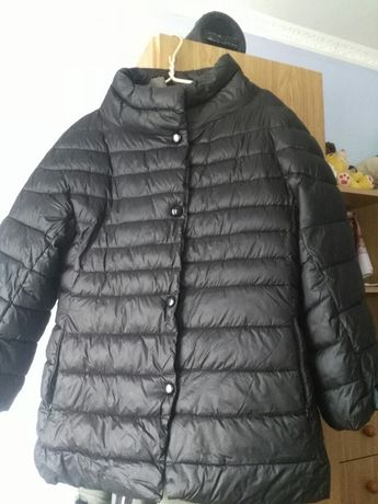 Весенняя куртка 3/4 черная