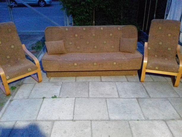 Zestaw wypoczynkowy Wersalka i Fotele