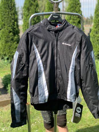 Nowa kurtka motocyklowa tekstylna marki SUZUKI rozmiar L 52 wyprzedaz!