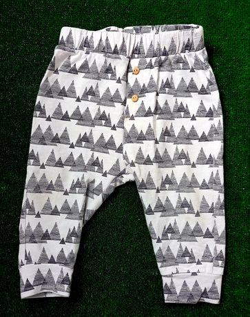 Spodnie haremki zara rozmiar 74 3-6 miesiecy