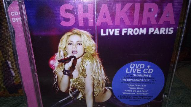 CD+DVD• Shakira- Live from Paris
