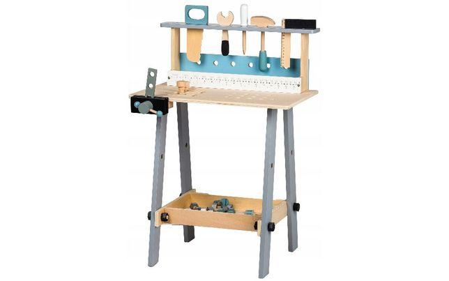 Drewniany warsztat z narzędziami 32 elementy zabawka # 1172