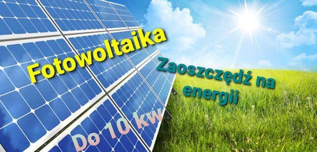 Fotowoltaika / Panele słoneczne / PV / Dofinansowanie