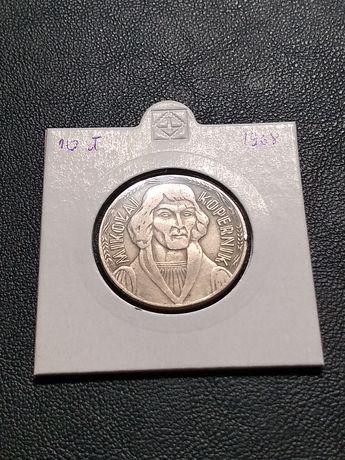 Moneta 10 złotych Mikołaj Kopernik 1968