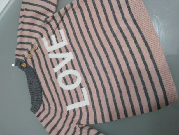 Sweterek H&M rozm. 80/86 sweter bluza