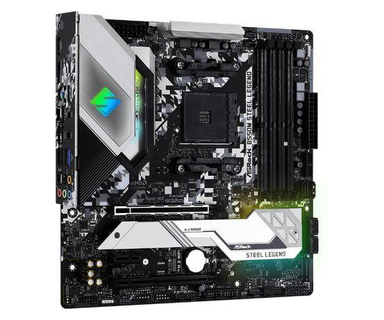 Motherboard Micro-ATX ASRock B550M Steel Legend - AMD Ryzen