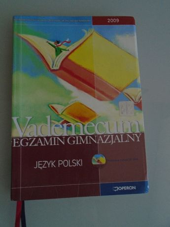 Vademecum egzamin gimnazjalny, język polski, płyta CD