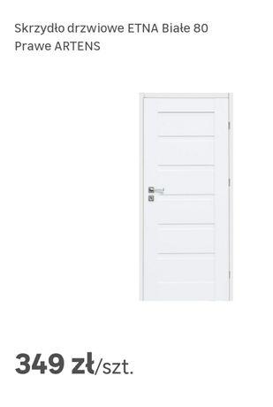 NOWE Drzwi wewnętrzne Etna marki Artens MDF 80prawe 183,5cm Uszkodzone
