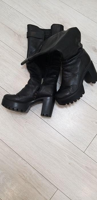 Сапоги кожаные зимние Ширяево - изображение 1