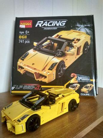"""Конструктор Decool """"Lamborghini"""" 2 в 1 (8611) (Ан,Лего) Машина"""