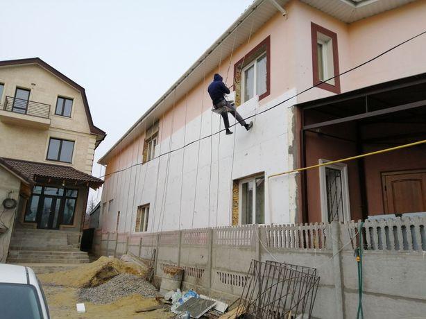 Утепление фасадов домов и квартир