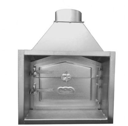 porta de inox para forno (porta de fumeiro)
