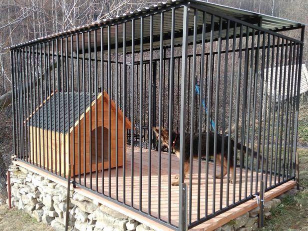 Kojce Klatki Boksy Kojec dla psa 3,5x2,5m