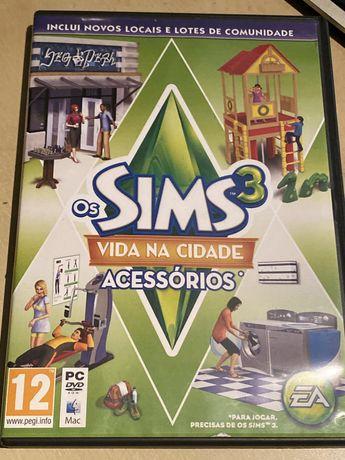 Sims 3 - Vida na vidade (Acessórios)