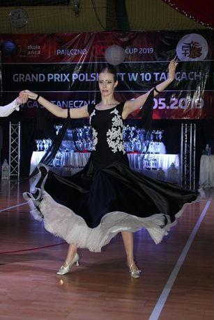 sukienka do tańca towarzyskiego standard EDC