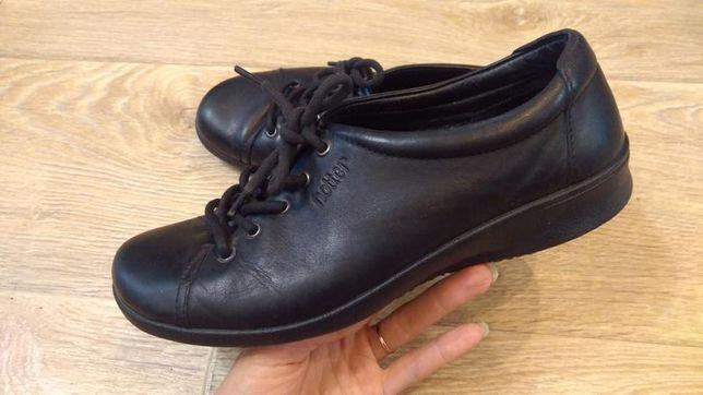 Туфли hotter 39р. стелька 25 см. кожа