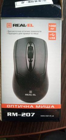 Продам мишку провідну REAL-EL