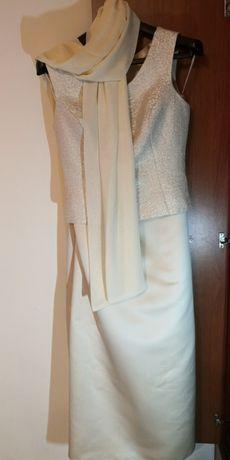 Gorset i długa spódnica xl