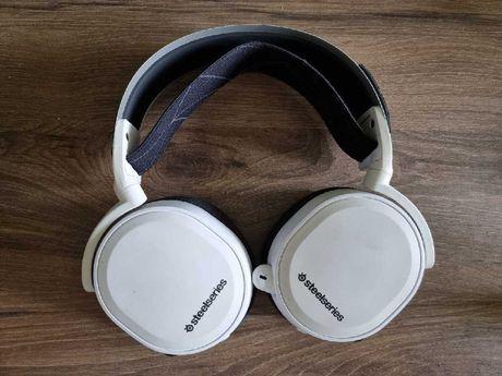 SteelSeries Arctis 7 Białe - Bezprzewodowe