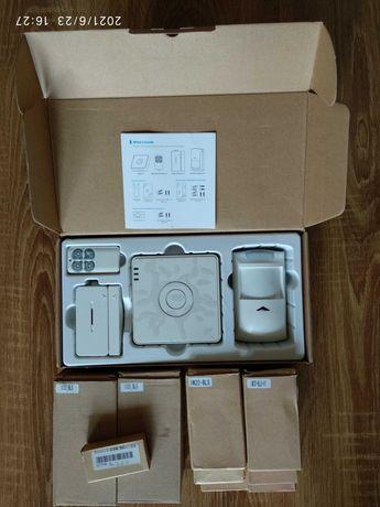 Zestaw alarmowy WiFi BroadLink S2 KIT + dodatki - NOWY