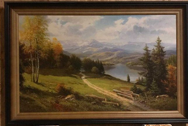 Obraz Podgórze - reprodukcja
