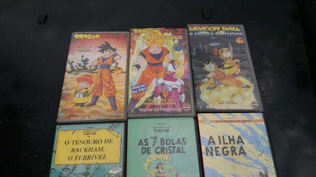 Filmes VHS Desenhos Animados
