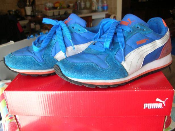 Buty sportowe PUMA 37 junior młodzieżowe wkładka wewn. 22 cm adidasy
