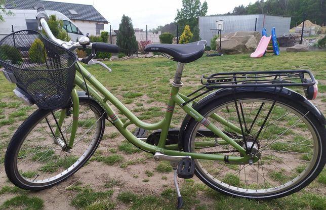 rower góral 24 kolor zielony