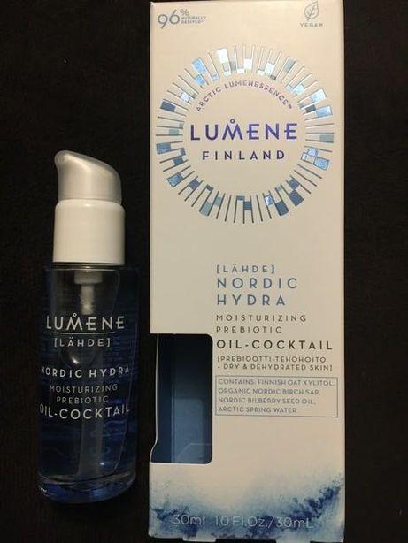 Lumene Lahde Nordic Hydra Moisturizing Prebiotic Oil-Cocktail NOWY