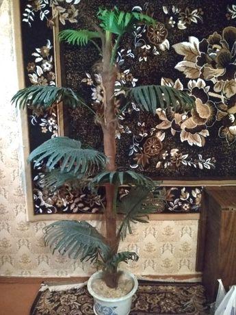 Искусственная пальма.Декоративное дерево,искусственные цветы. ваю