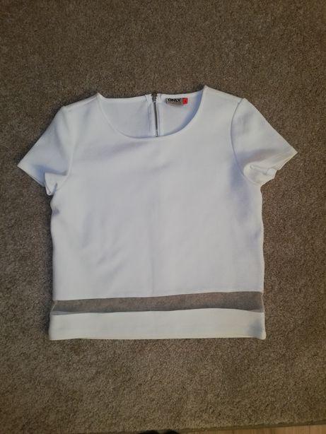 Biała koszulka only s