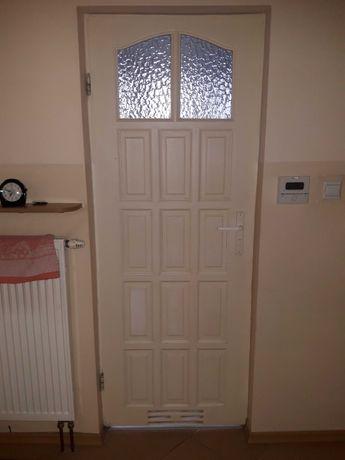 Drzwi wewnętrzne drewniane 74cm/200cm
