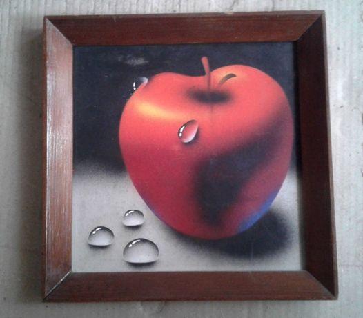 продам картины масло холст пейзаж тюльпаны яблоко подарок