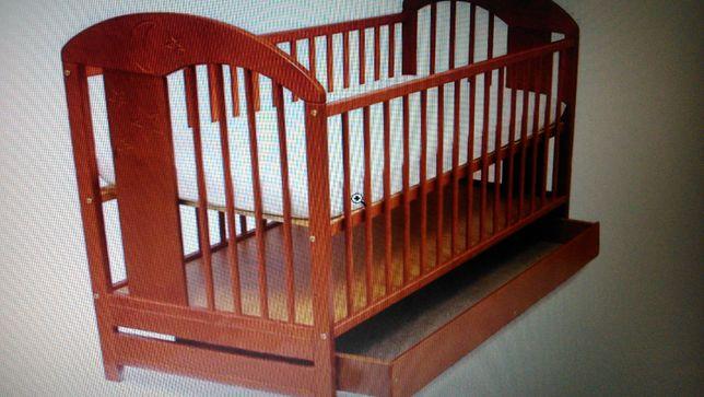 Łóżeczko dziecięce 120/60+ przewijak