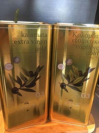 Grecka Oliwa z Oliwek Extra Virgin 5l - GOLD KALAMATA 0,3% KWASOWOŚCI