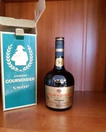 butelka karton do k o n i a k Courvoisier Napoleon lata 60/70