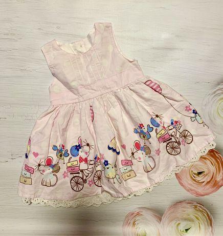 Красивое Платье на 3-6 мес• плаття•