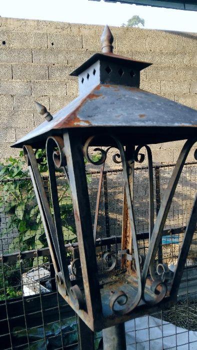 Candeeiro antigo de exterior Ponte de Lima - imagem 1