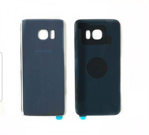 Capa traseira substituição Samsung S7 Edge Cinzenta