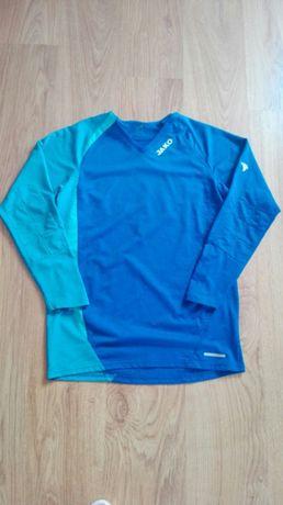 Jako bluza bramkarska piłkarska sportowa niebieska granatowa s 36