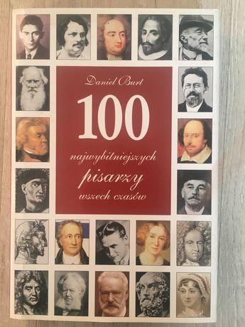 Książka 100 najwybitniejszych pisarzy