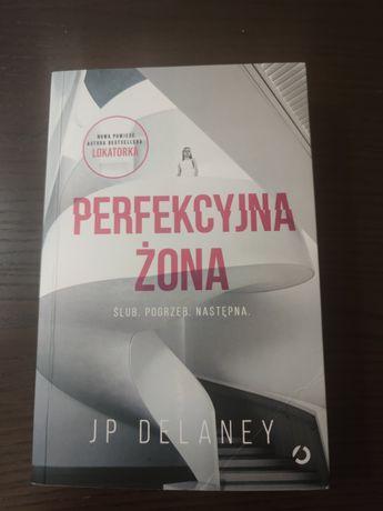 """Książka """"Perfekcyjna żona"""" JP Delaney"""