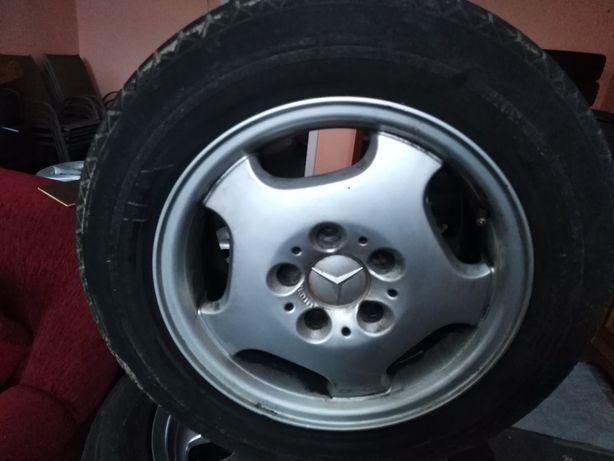 4 felgi aluminiowe 15 od Mercedesa oryginalne 5x112 et 37
