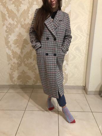 пальто в клетку Италия