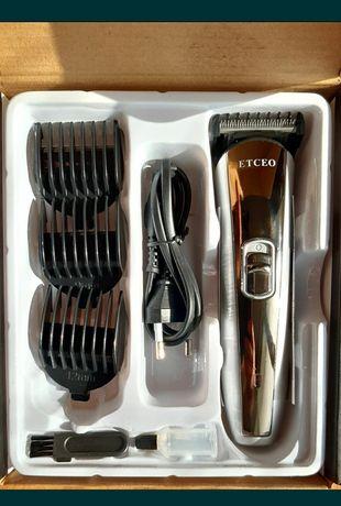 Машинка для стрижки волос аккумулятор волосы триммер бритва Etceo
