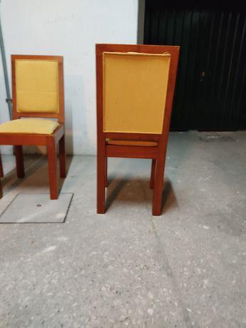 Cadeiras de sala em cerejeira